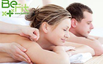 Darujte si masážny zážitok, ktorý vynesie vaše telá do relaxačného neba! Na výber valentínska masáž pre dámy, pánov alebo párik. Skvelý tip na darček!