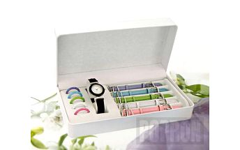 """Dámské hodinky """"Style"""". 6 řemínků a rámečků v různých barvách. 6 hodinek v jednom!"""