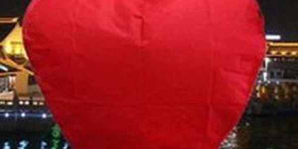 Lampion štěstí ve tvaru srdce - 10 kusů a poštovné ZDARMA! - 29