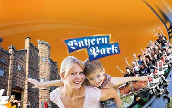 Jednodenní výlet do bavorského zábavního parku Bayernpark! Pojeďte s námi navštívit zábavní park s novou horskou dráhou Freischütz! Akční cena 590 Kč!