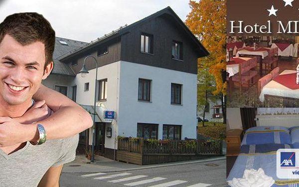 HARRACHOV - Vychutnejte si jarní pobyt v hotelu Mitera Harrachov pro 2 osoby na 3 dny. Krásná příroda, bohatá polopenze a k tomu turistický balíček. To celé za skvělých 1499 Kč!