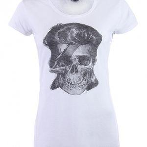 Dámské bílé tričko Ron Abraham s Davidem