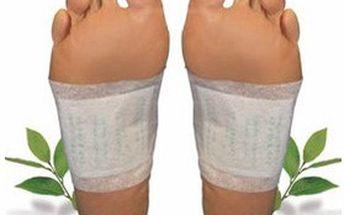 Kúra detoxu: balení 30 ks detoxikačních náplastí KINOKI pro bezpečnou a nenásilnou OČISTU těla