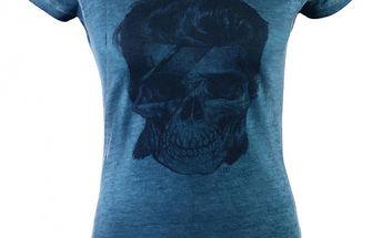 Dámské tyrkysové tričko Ron Abraham s Davidem