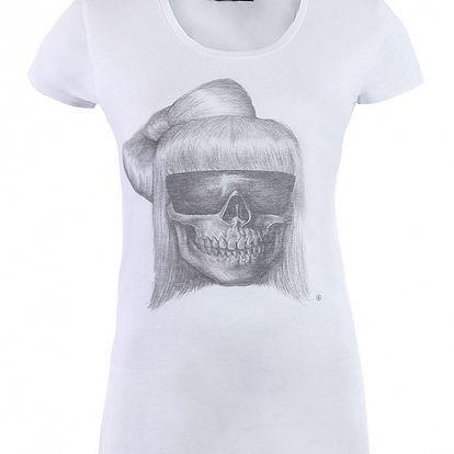 Dámské bílé tričko Ron Abraham se Stefanií