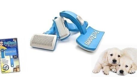 Sleva na kartáč pro Vaše pejsky a kočky PetZoom, n...