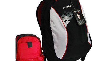 Skvělý batoh Lotto s kapsou na notebook! Vysoká kvalita zpracování a krásná barevná kombinace, batoh sportovní značky Lotto!
