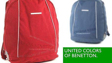 Dvoukomorový batoh Benetton – 6 barev