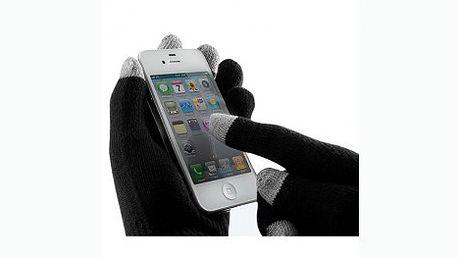 Rukavice pro dotykové displeje jen za 99 Kč. Super tip na dárek, který vás zahřeje a dokonce s ním budete ovládat telefon a další vaše přístroje.