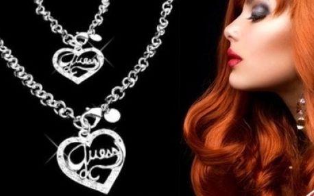 Exkluzívna súprava luxusných šperkov značky Guess za bezkonkurenčnú cenu 9,90 € aj s poštovným!