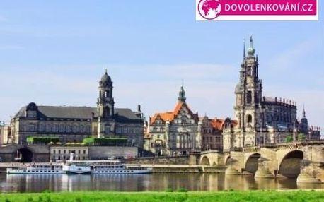 Celodenní zájezd do Drážďan na výprodeje za 249 Kč!