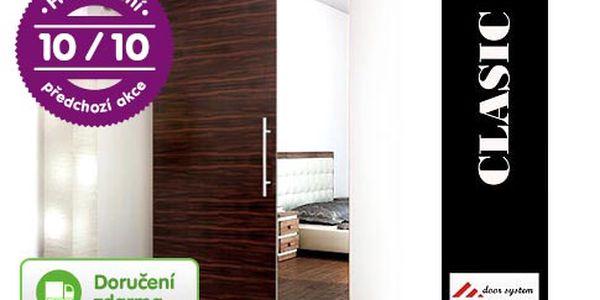 Moderní posuvné dveře Gotszalk – 22 povrchů