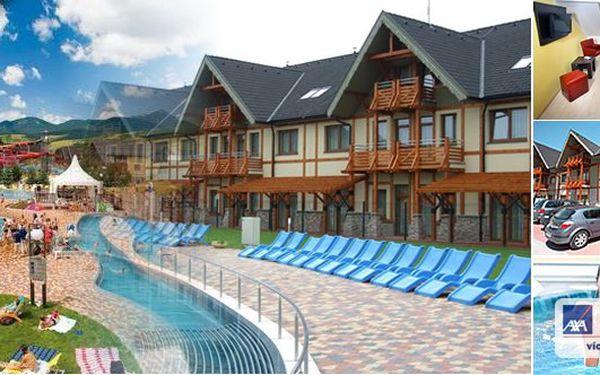 LÉTO 2013 v GINO Paradise - thermal parku BEŠEŇOVÁ Slovensko - překrásné luxusní apartmány na 5 nebo 7 dní pro 2 osoby ve 4* hotelu LUKA - ubytování přímo v komplexu thermal parku se zastřešenými balkóny a výhledem do celého areálu. BONUS - slevy na vstupy do bazénů a děti do 6 let zdarma!