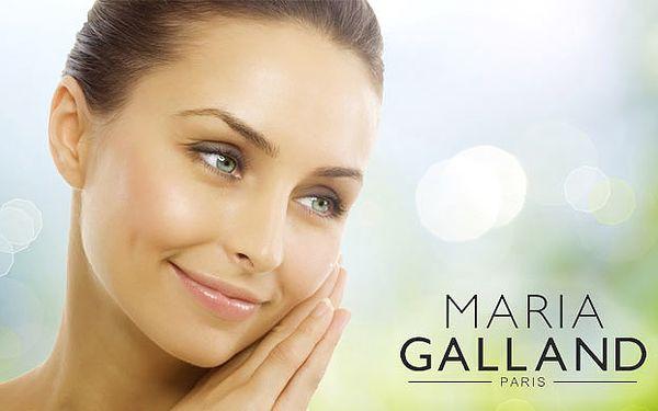 Kompletné hĺbkové kozmetické ošetrenie pleti francúzskou kozmetikou Maria Galland Paris vrátane masáže tváre a úpravy obočia len za 19,90€ so 71% zľavou.