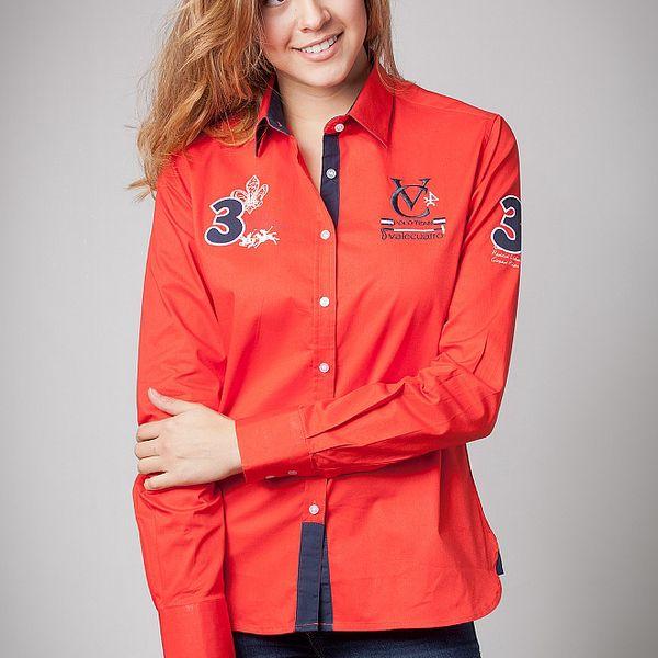 Dámska červená košeľa Valecuatro