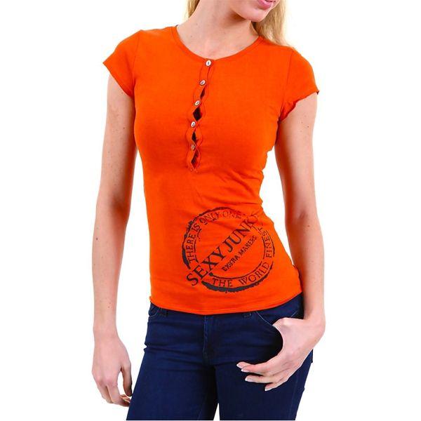 Dámské tričko Sexy Woman oranžové