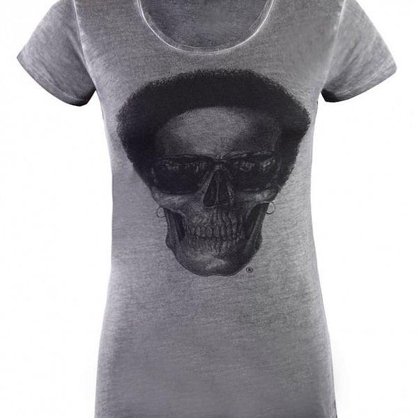 Dámské světe šedé tričko Ron Abraham s Lennym
