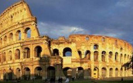 EUROVÍKEND v ŘÍMĚ! 3 dny letecky do Říma jen za 6.950. Nyní stačí záloha 3.450,- kč