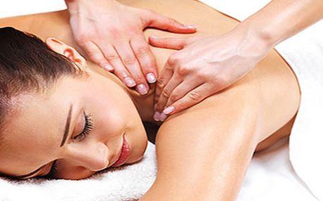 Skvělý relax: regenerační masáž zad či čokoládová masáž od 120 Kč na Praze 4!