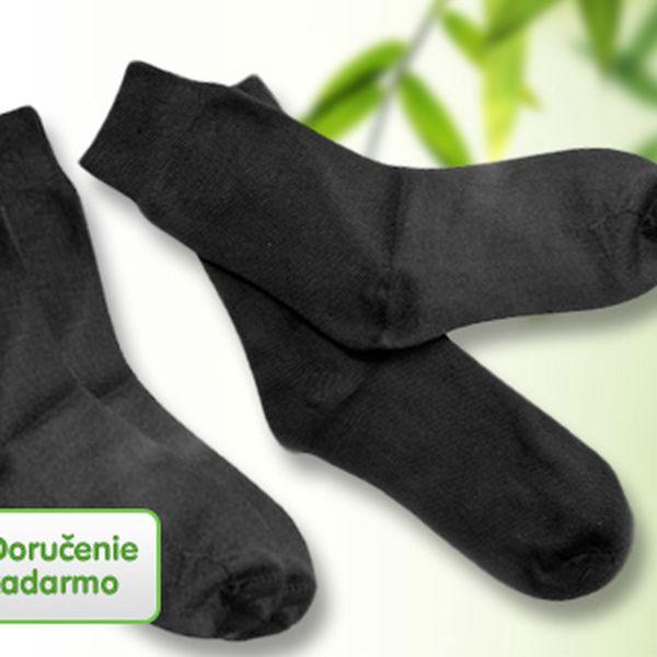 2 páry bambusových ponožiek
