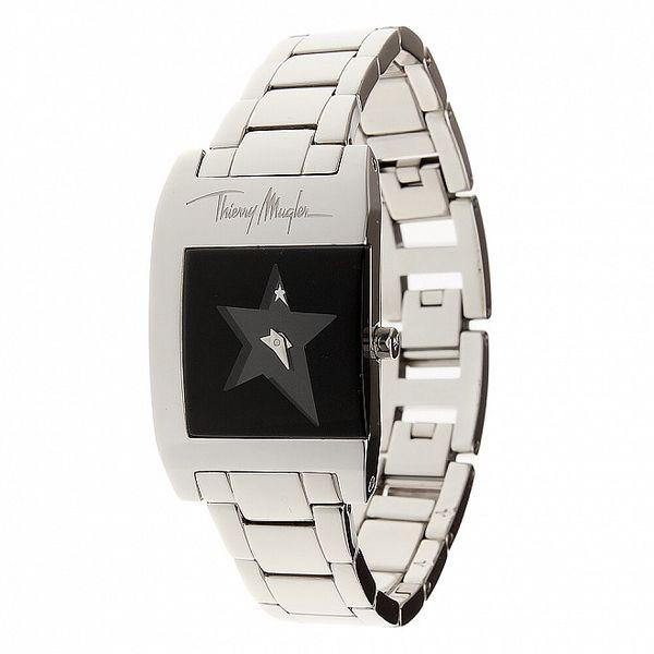 Dámske oceľové hodinky Thierry Mugler