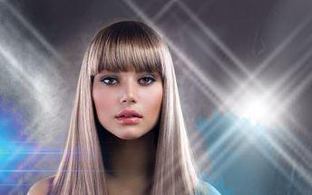 DÁMSKÝ KADEŘNICKÝ BALÍČEK pro všechny délky vlasů za super cenu 249 Kč! Mytí, hloubková regenerace, střih, foukaná či žehlení a závěrečný styling! Perfektní účes s úžasnou slevou 49%!