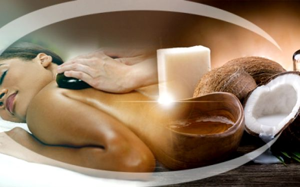 2v1! KOMBINACE 2 BÁJEČNÝCH MASÁŽÍ - kokosové a masáže lávovými kameny za pouhých 299 Kč! Uvolněte se a nechte se hýčkat po dobu 60 minut! Můžete se těšit na masáž celé zadní části těla a plosek nohou! Sleva 62%!