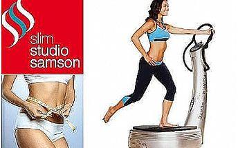 30-ti minutová lekce POWER PLATE ve Slim Studiu Samson jen za 99Kč