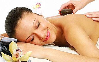 90-ti min. celková masáž lávovými kameny či klasická masáž