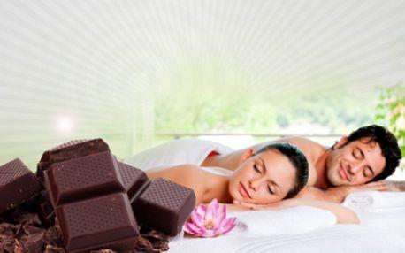 Čokoládová masáž, peeling a zábal zad jen za skvělých 299 Kč! Vraťte své mysli pocit radosti a uvolnění. Dopřejte si nevšední zážitek v podobě čokoládové procedury!