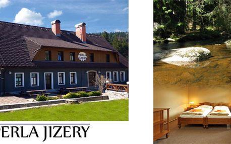 Relax na hotelu Perla Pobyt se snídaněmi pro 2 osoby na 2 noci v Jizerských horách