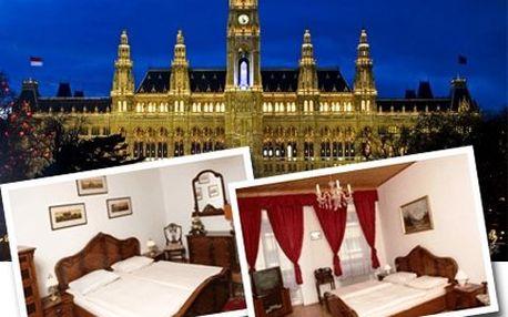 Pobyt pro 2-4 osoby ve Vídní!