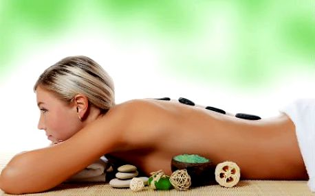 Masáž zad s havajskou masážív 60 minutách!