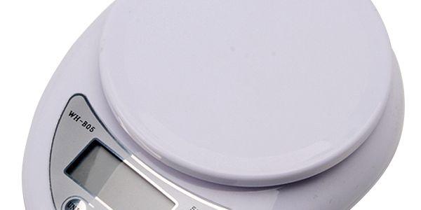 Kuchyňská digitální váha s LCD displejem - bílá a poštovné ZDARMA! - 34