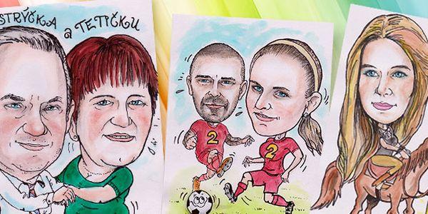 Karikatúra podľa fotografie