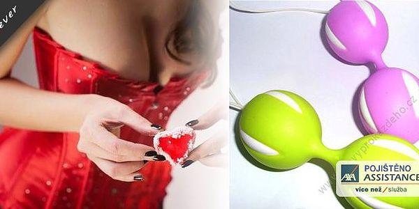 Sháníte pro svoji drahou netradiční dárek k Valentýnovi? Venušiny kuličky se zajímavým zpracováním upoutají už na první pohled. Kombinace barev, jemný příjemný materiál, naprosto nehlučné a velmi diskrétní. Vhodné pro každou ženu !