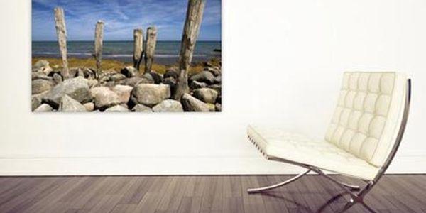 Fotografie na plátně s dřevěným rámem