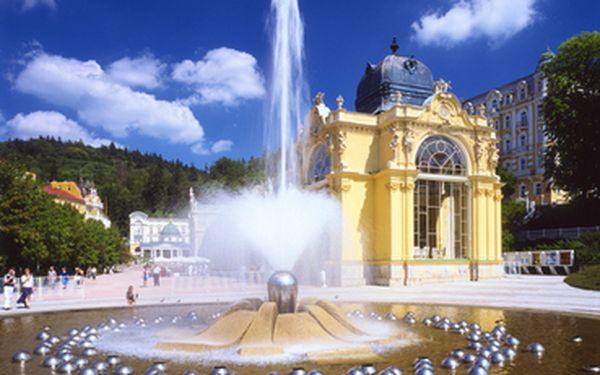 3-denní relaxační pobyt pro DVA v Mariánských Lázních ve 4* hotelu Goethe včetně polopenze a 3 procedur pro každého