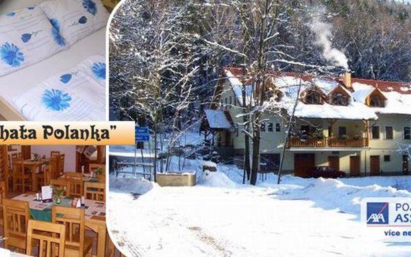 Ubytování pro 2 osoby na 3 dny 2 noci v krásné příroděvčetně snídaní a také skipasu v zimním období do areálu Hlinsko na celý pobyt !!! Nabídka platí po celý rok, je na Vás , zda pojedete v zimě lyžovat či se koupat v létě !