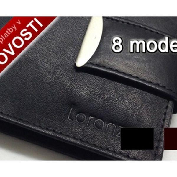 Pánské luxusní kožené peněženky italského designu za skvělou akční cenu jen 229,-Kč. Vybírejte z 8 modelů, černé i hnědé provedení. Extra kvalitní hovězí kůže.