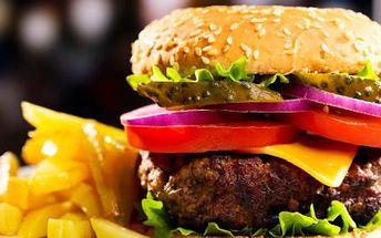 Silný vývar, burger a zmrzlinový pohár za 139 Kč!