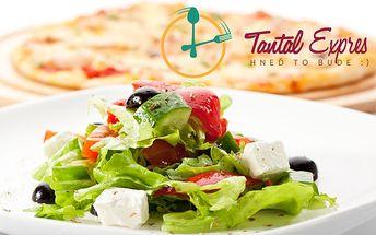Len 2,90 € za donášku pizze, cestovín a šalátov podľa originálnej receptúry.