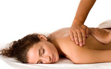 60 minutová Breussova masáž nebo klasická masáž zad a šíje za fantastických 260 Kč!