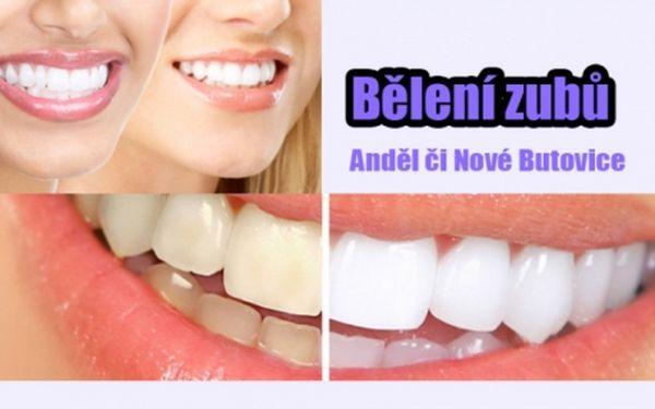BĚLENÍ ZUBŮ BEZ PEROXIDU za fantastickou cenu! Profesionální bělení zubů bezpečně a efektivně!! Zářivý úsměv bez námahy!!