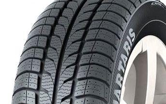 Celoroční pneumatika, která splňuje podmínky zimní výbavy. Barum Quartaris 195/65 R15 91H