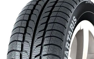 Celoroční pneumatika, která splňuje podmínky zimní výbavy. Barum Quartaris 185/60 R14 82H