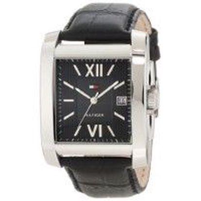 Pánské hodinky Tommy Hilfiger, ocelové pouzdro, kožený řemínek, vodotěsnost 30 M