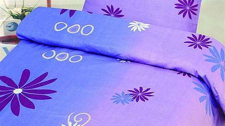 """Ložní povlečení """"Fialová fantazie"""". Zasněte se v měkoučké a barevné posteli."""