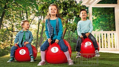 3 skákací míče pro malé neposedy. Uspořádejte hopsací závody!