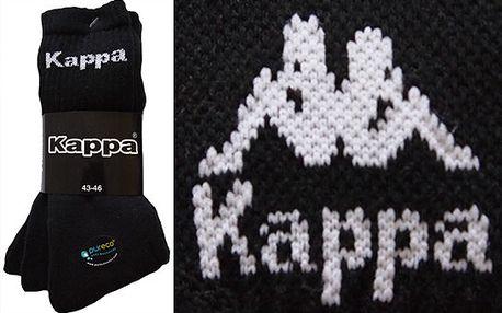 6 párů ponožek Kappa jen za 158 Kč
